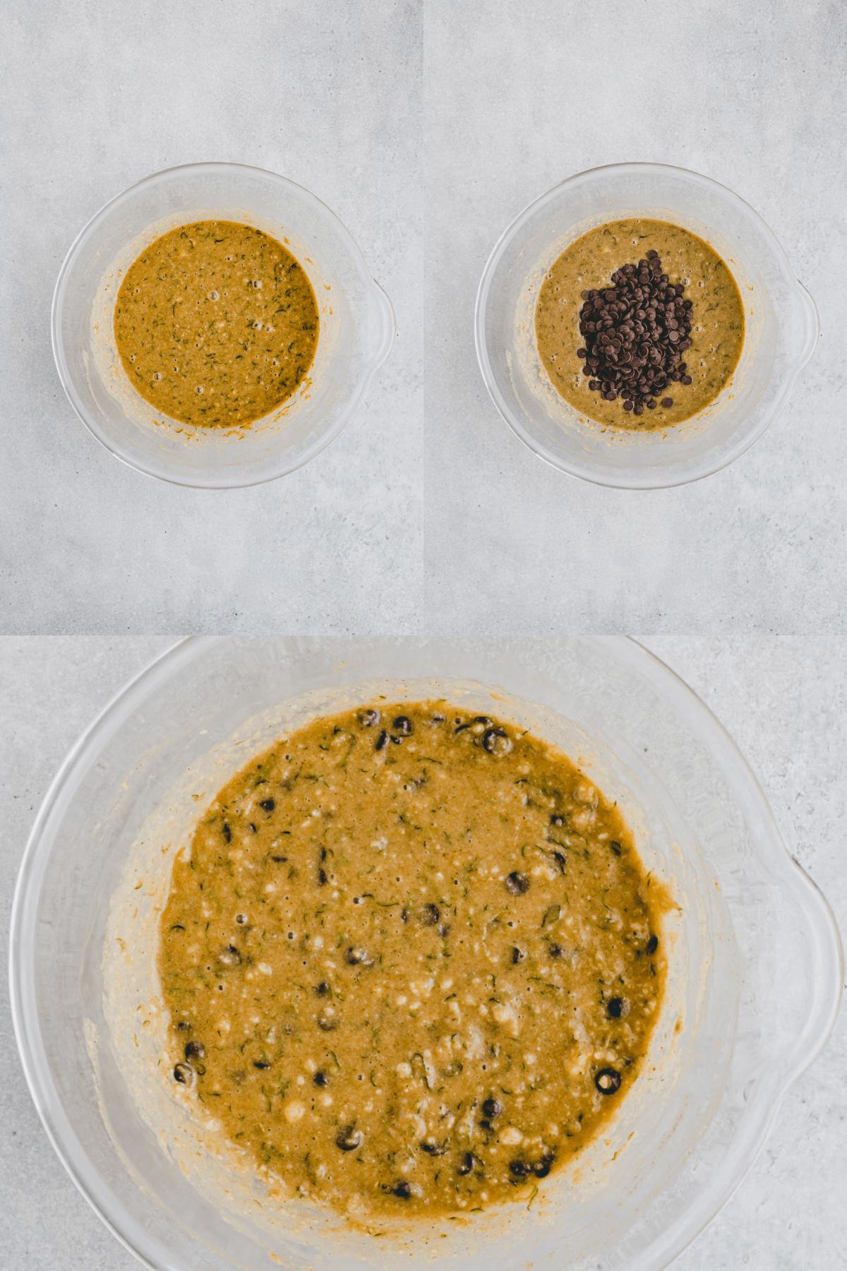 Glutenfreier Zucchinikuchen Rezept Schritt 9-11