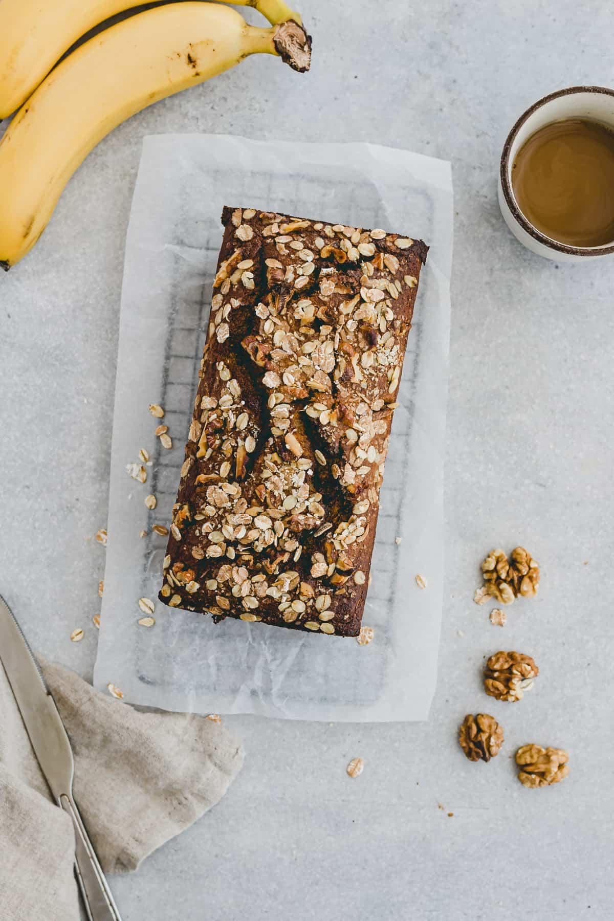 Walnut Banana Bread Recipe Step 9