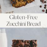 paleo zucchini bread pinterest pin