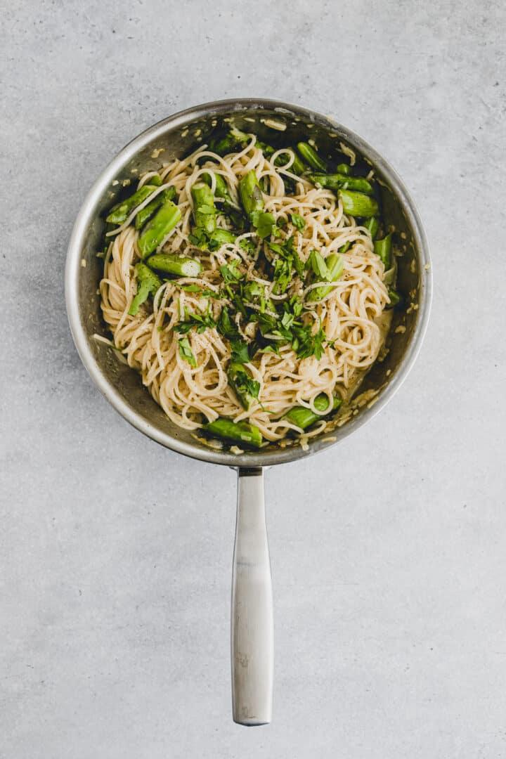 Asparagus Carbonara Recipe Step-7