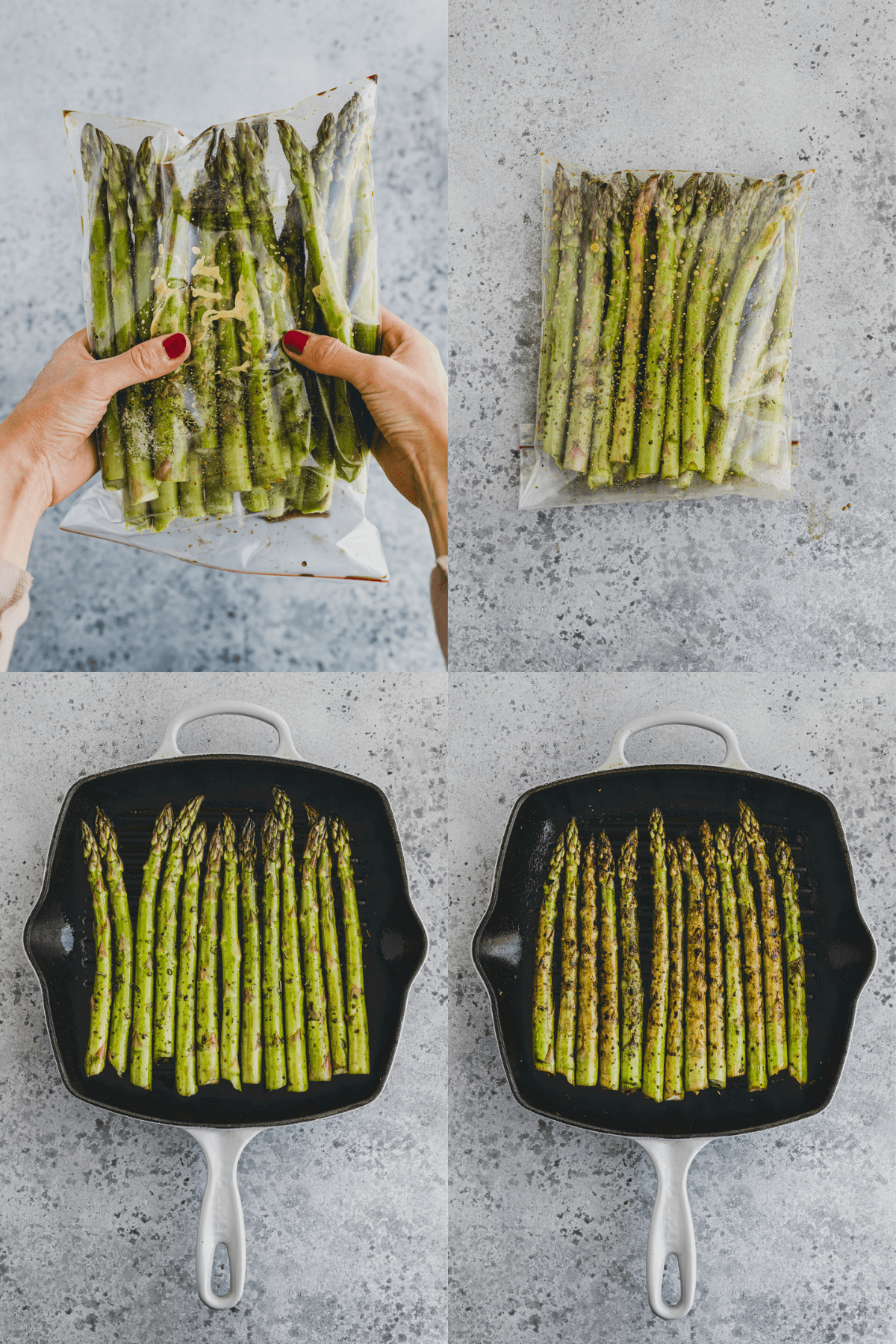 How To Grill Asparagus Recipe Step-5-8