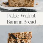 Walnut Banana Bread Pinterest Pin