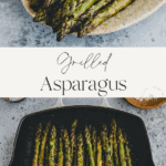 Grilled Asparagus Pinterest Pin