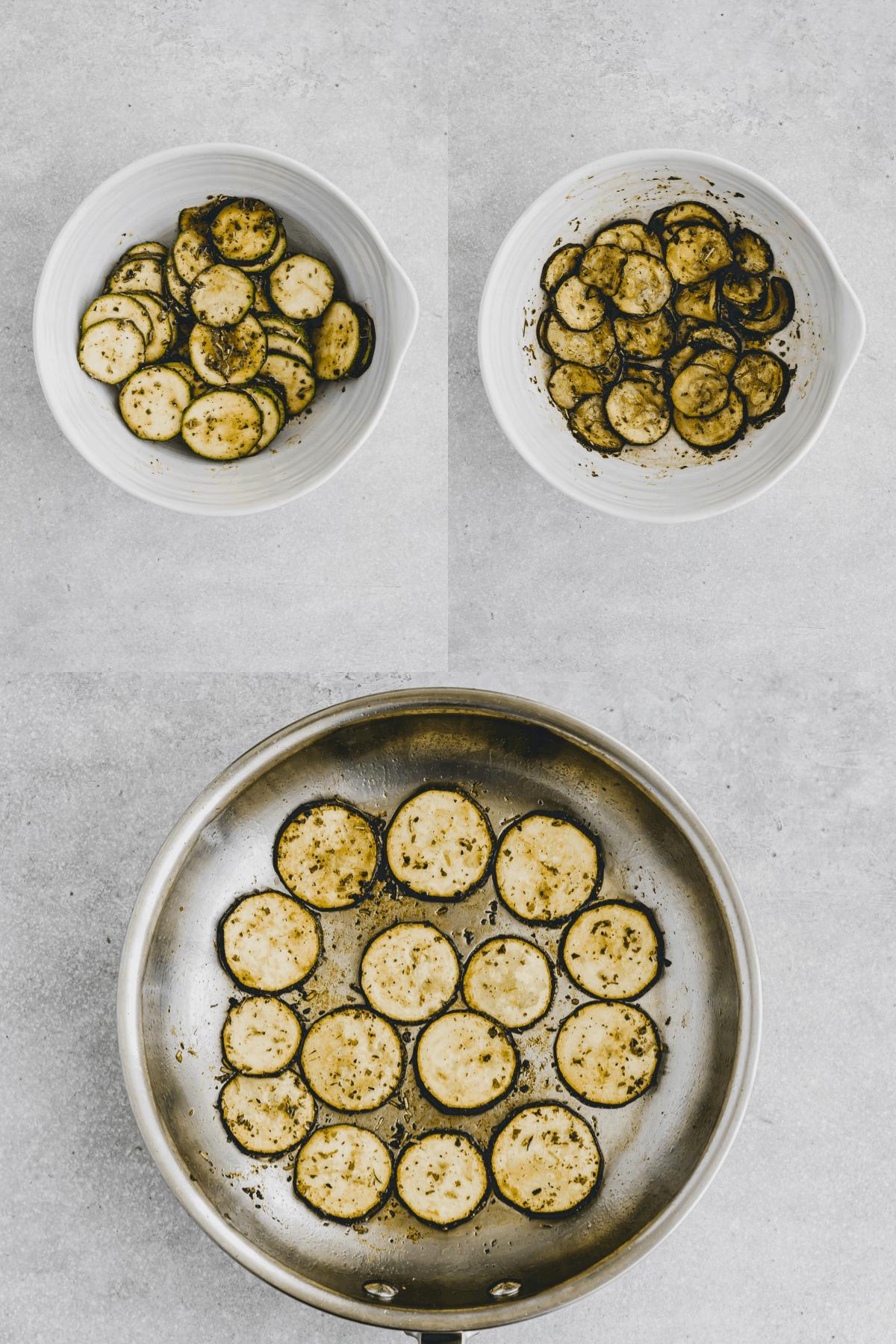 Sommer Quinoa Salat Rezept Schritt 1-3