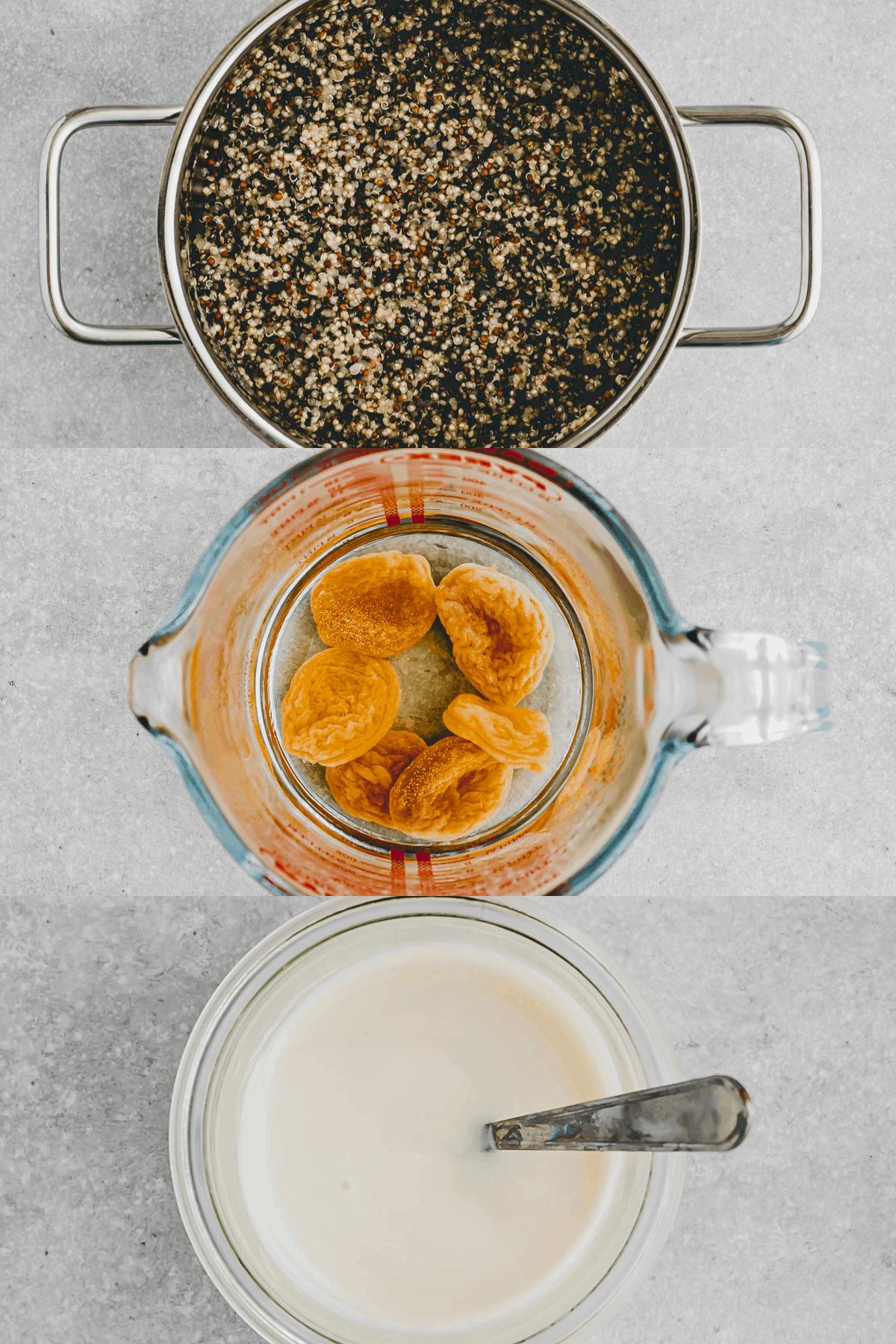 Sommer Quinoa Salat Rezept Schritt 4-6