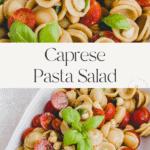 Caprese Pasta Salad Pinterest Pin
