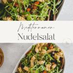 Mediterraner Nudelsalat Pinterest Pin