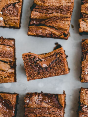 brownies mit nutella