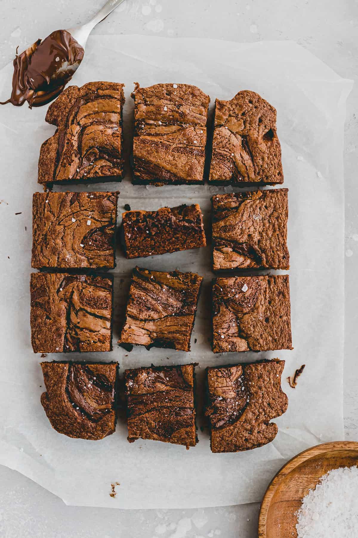 Nutella Brownie Recipe Step 11