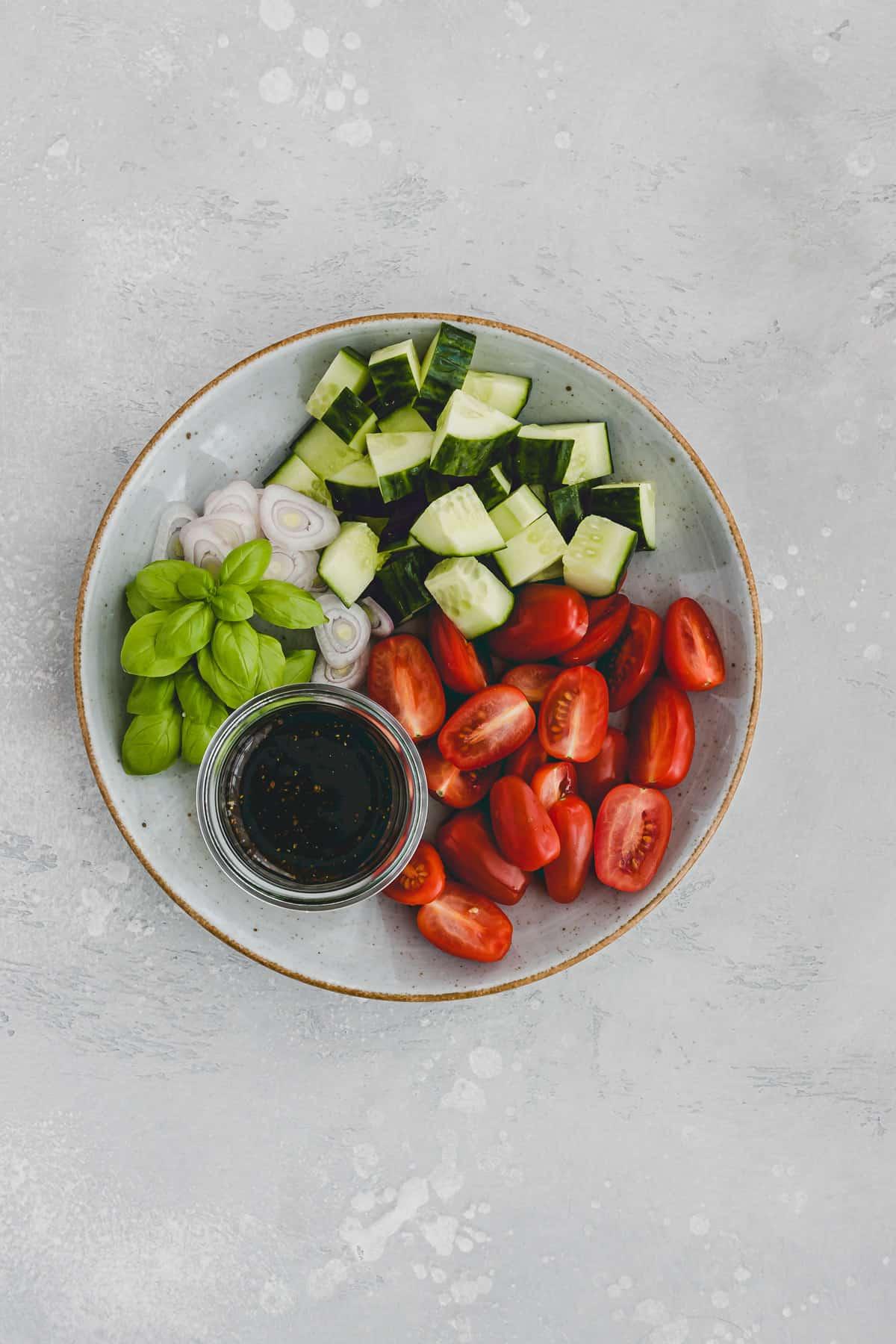 panzanella salad recipe step 2