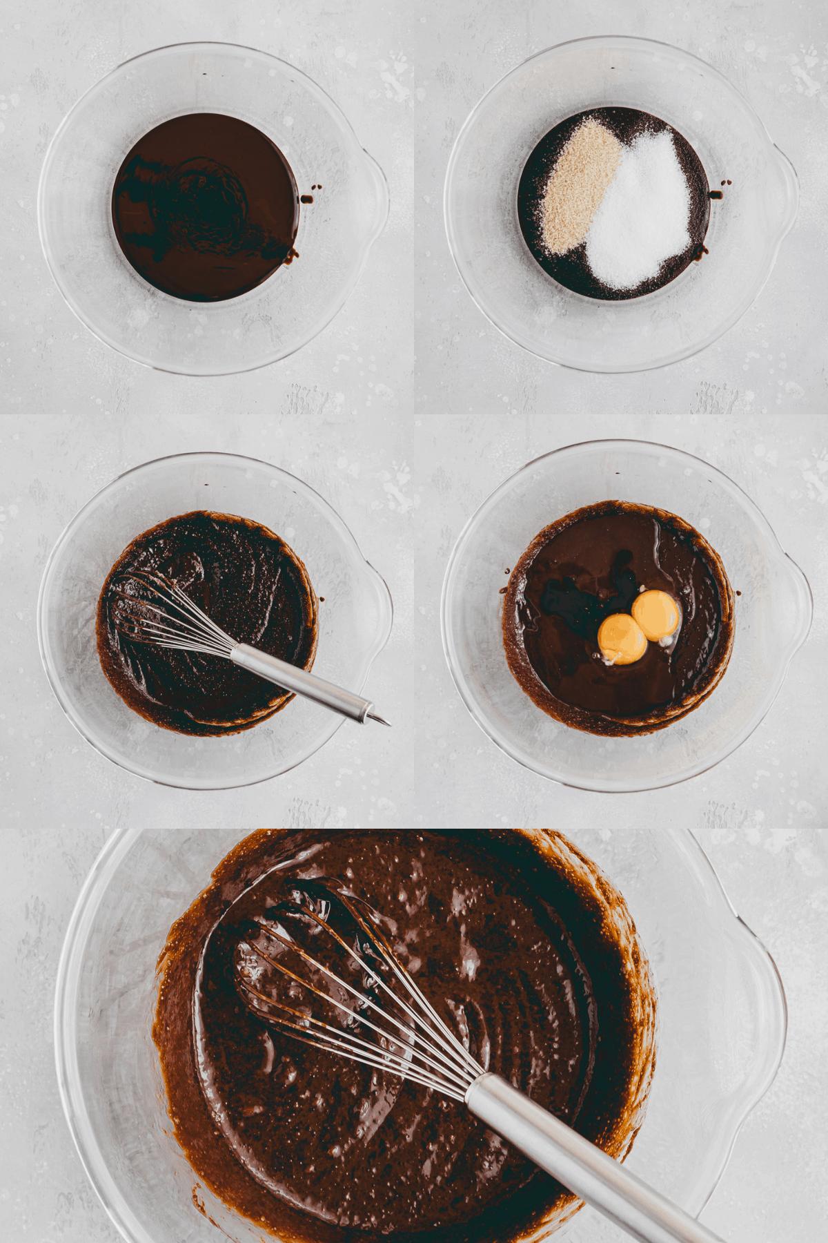 Raspberry Brownies Recipe Step-1-5