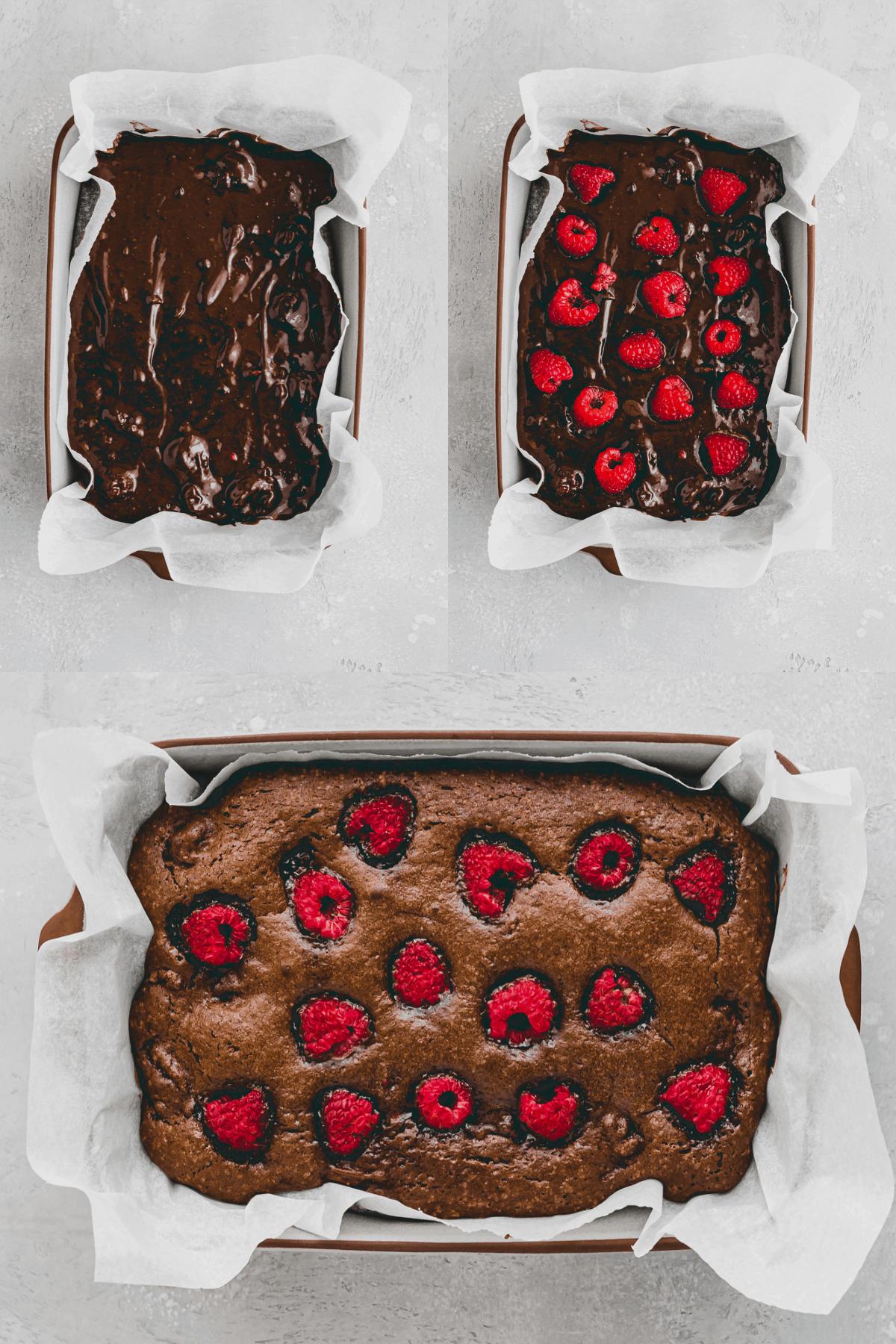 Raspberry Brownies Recipe Step-10-12