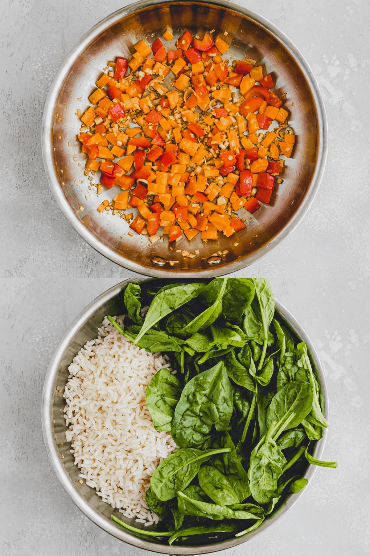 Tofu Fried Rice Recipe Step 4-5