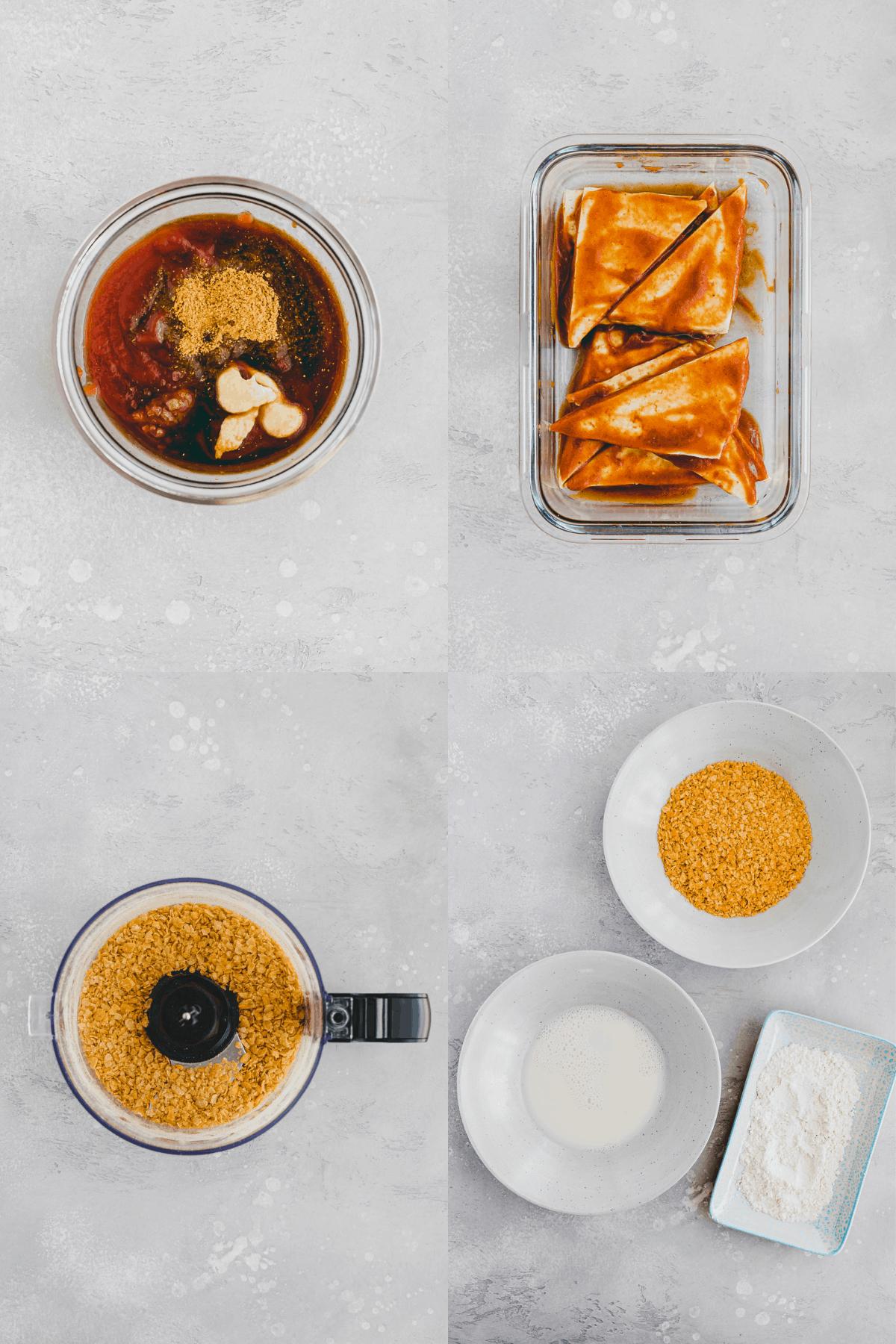 Tofu Nuggets Recipe Step-1-4