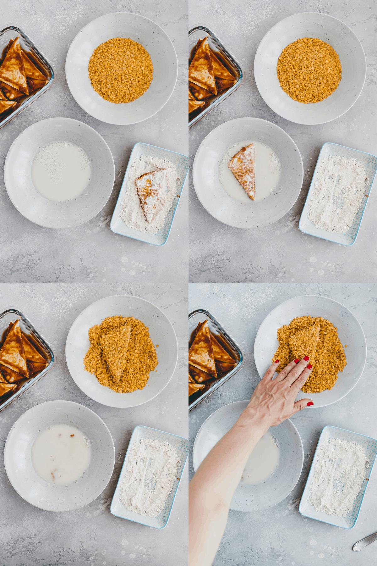 Tofu Nuggets Recipe Step-5-8