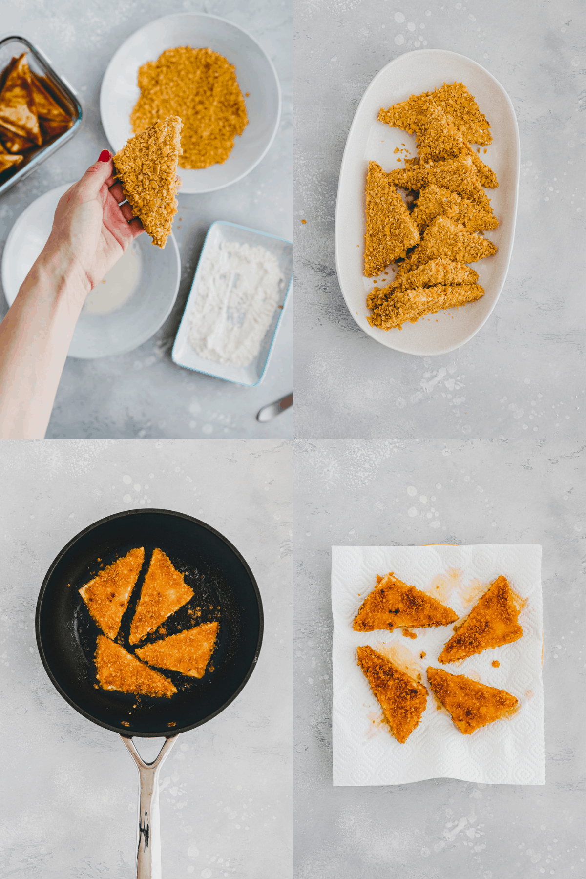 Tofu Nuggets Recipe Step-9-12
