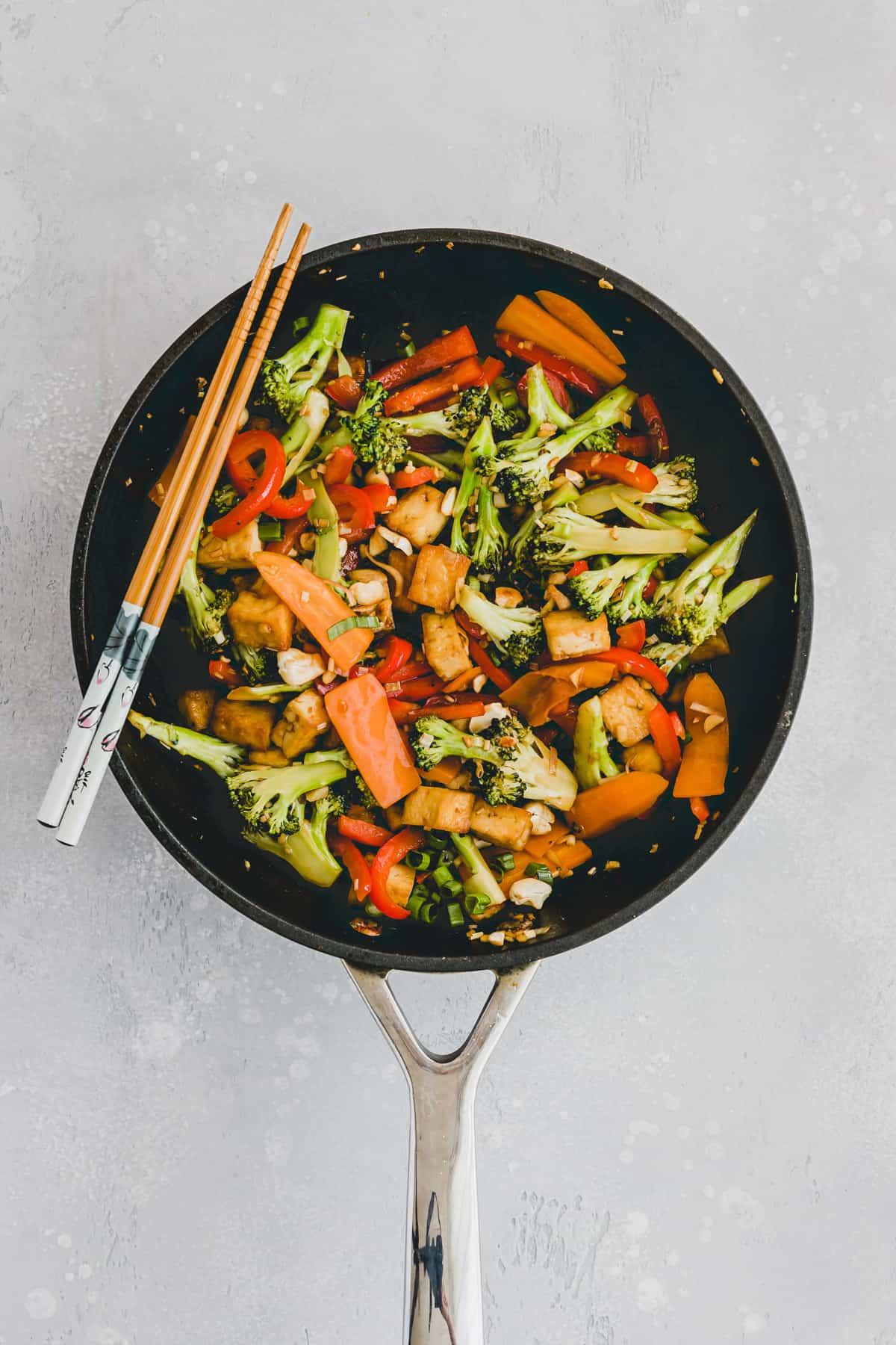 Tofu Stir Fry Recipe Step 8