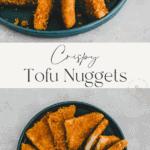 tofu nuggets pinterest pin
