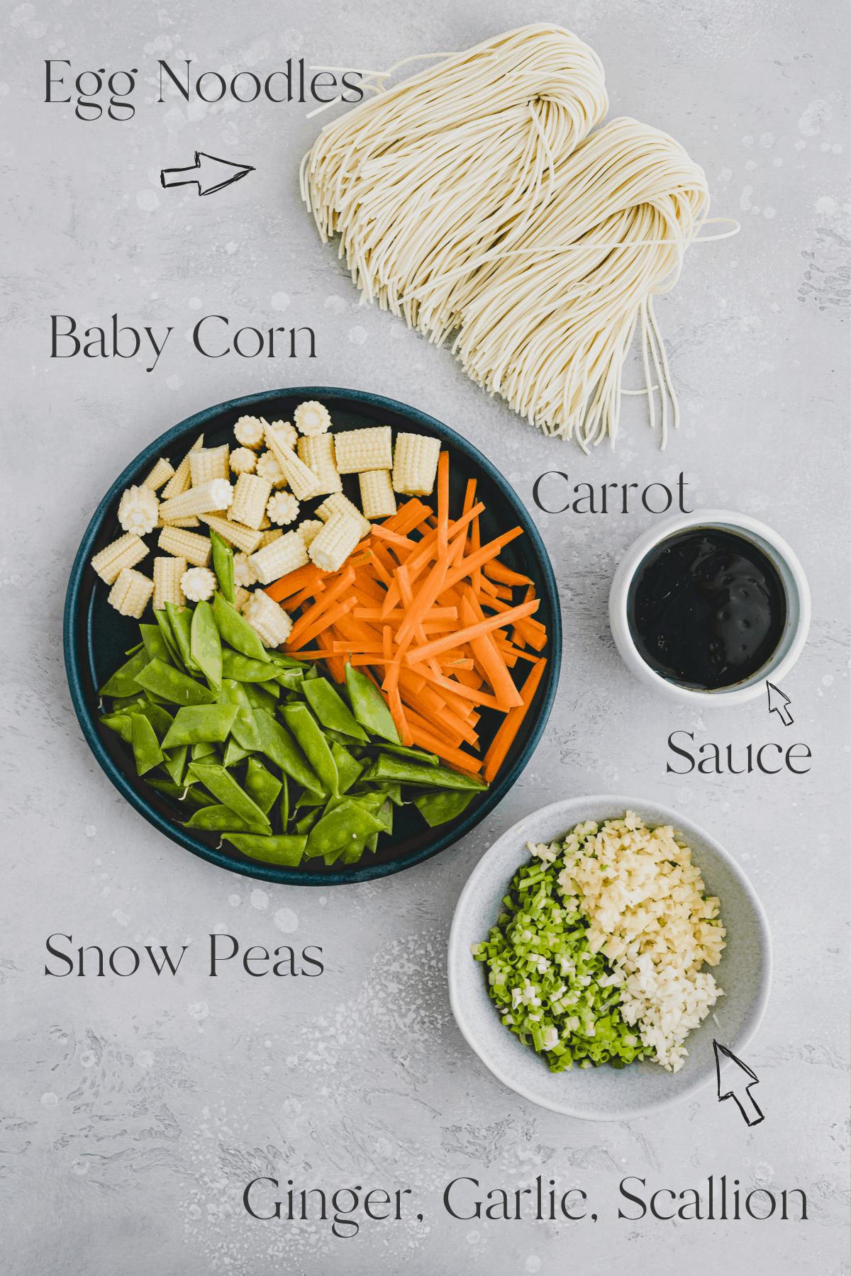 Lo Mein Recipe Ingredients