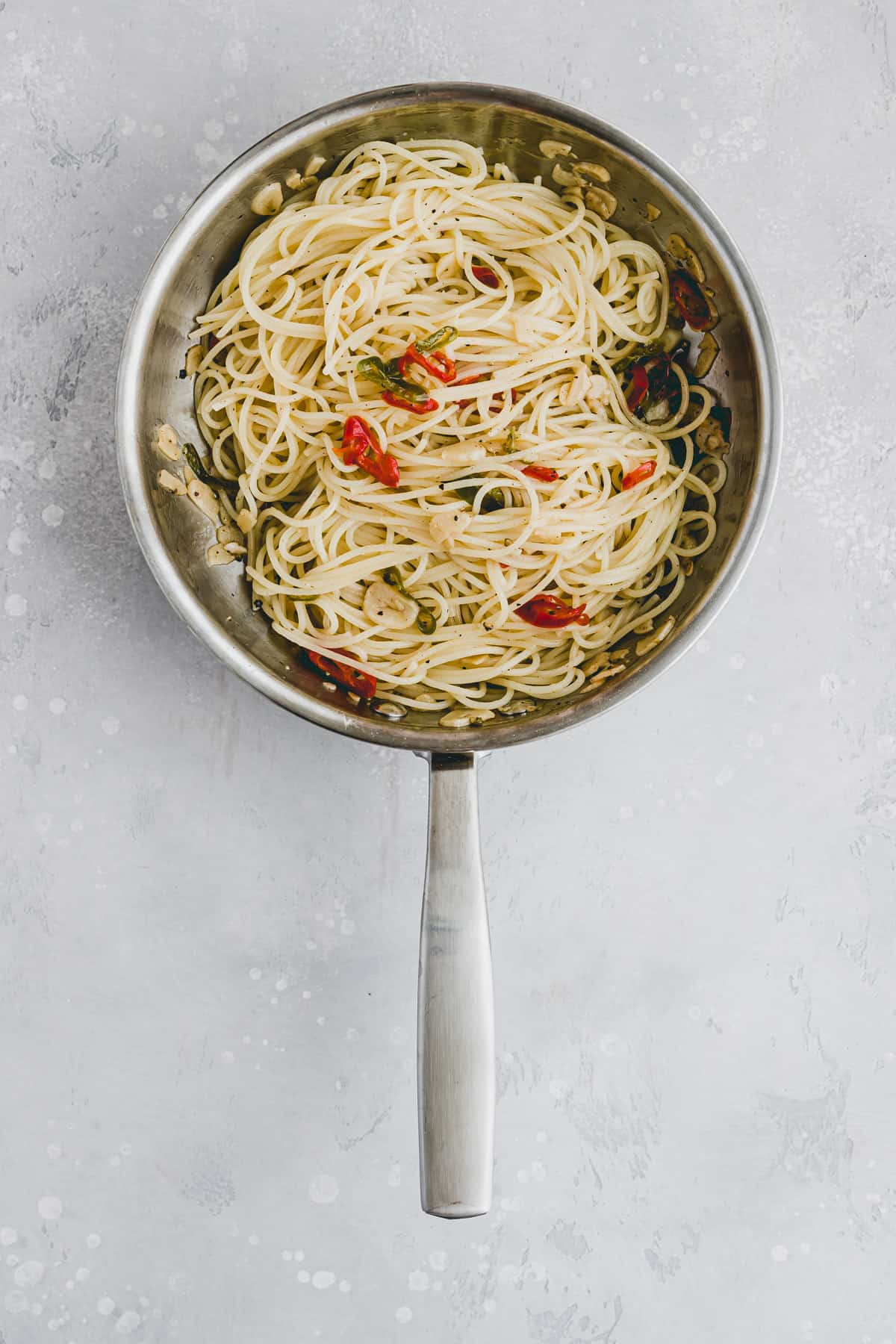 Spaghetti Aglio e Olio Rezept Schritt-3