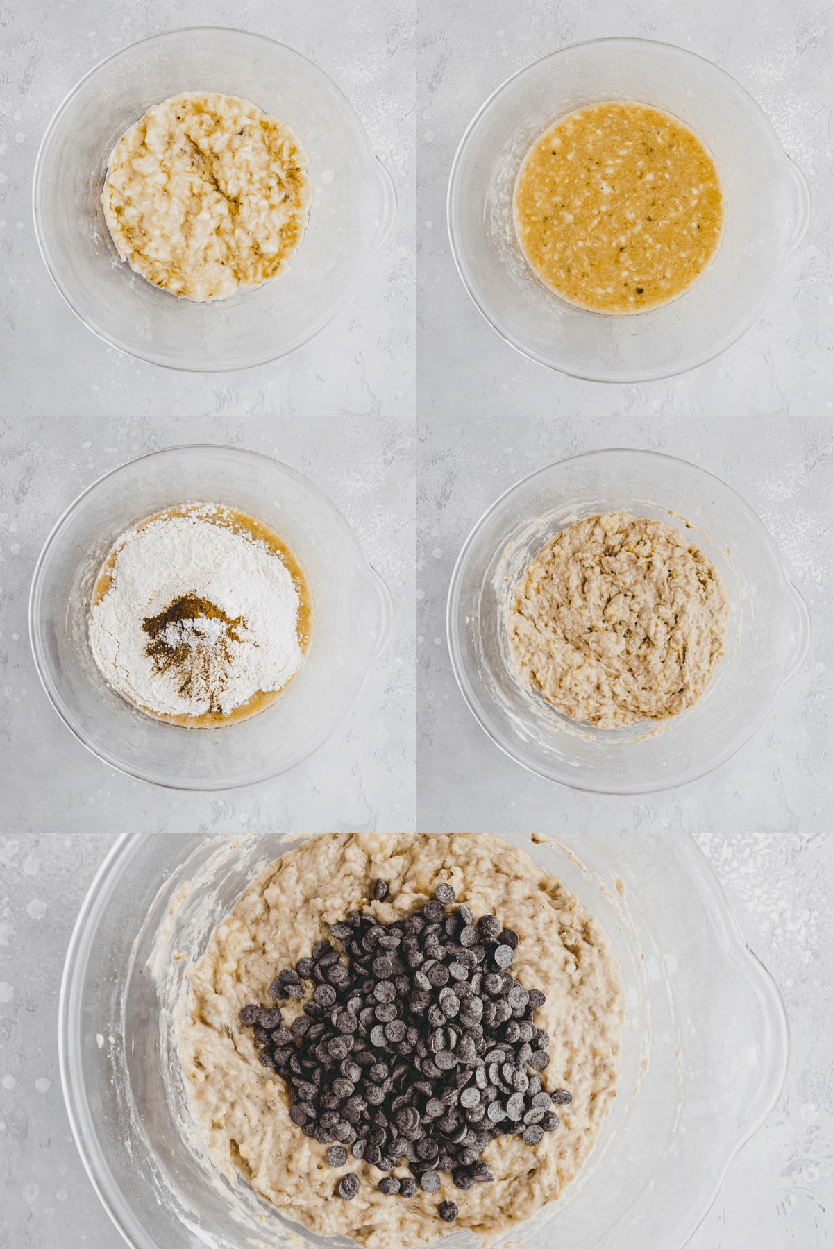 Vegan Banana Bread Recipe Step-1-5