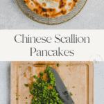 chinese scallion pancakes pinterest pin