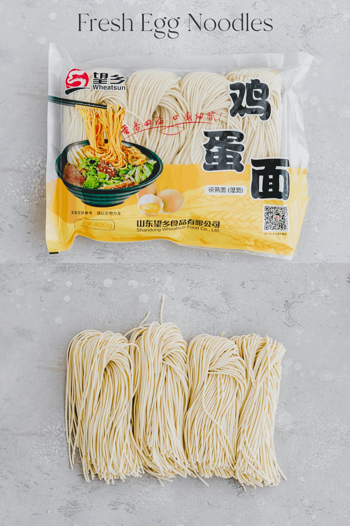 fresh egg noodles