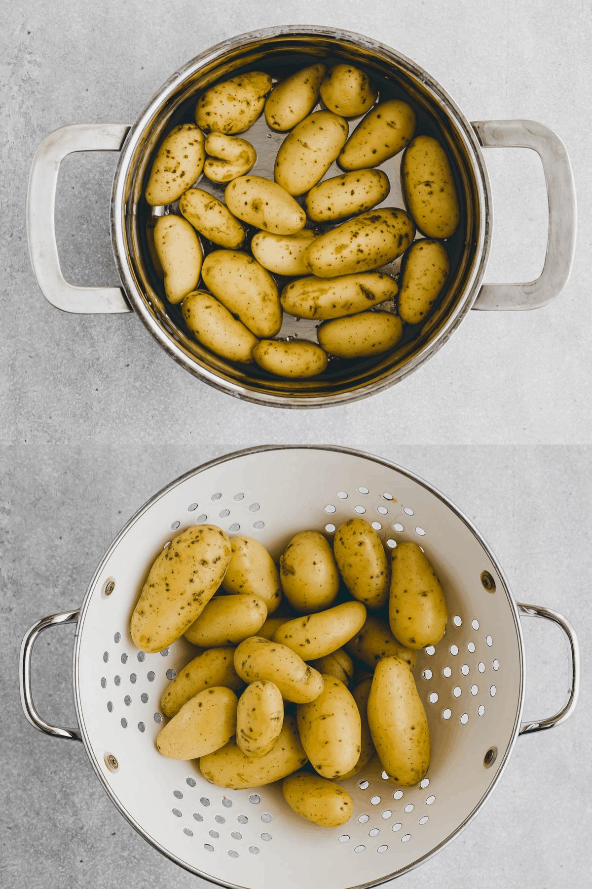 Smashed Potatoes Recipe Step 1-2