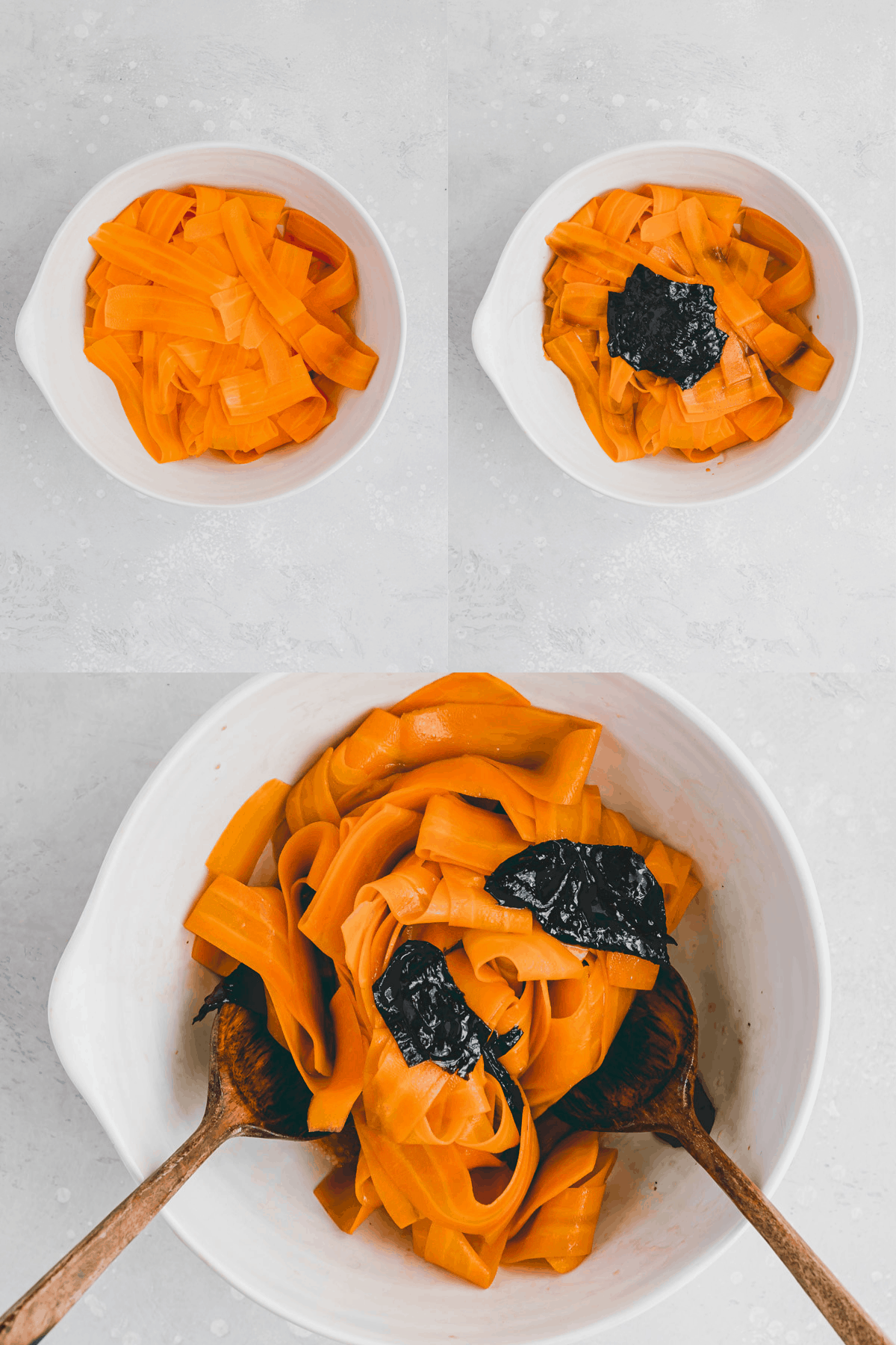 Veganer Karottenlachs Rezept Schritt 8-10