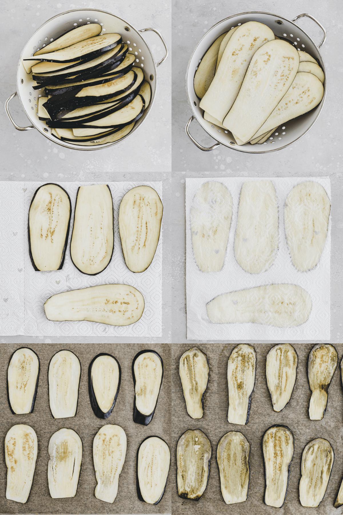 Eggplant Parmesan Recipe Step 1-6